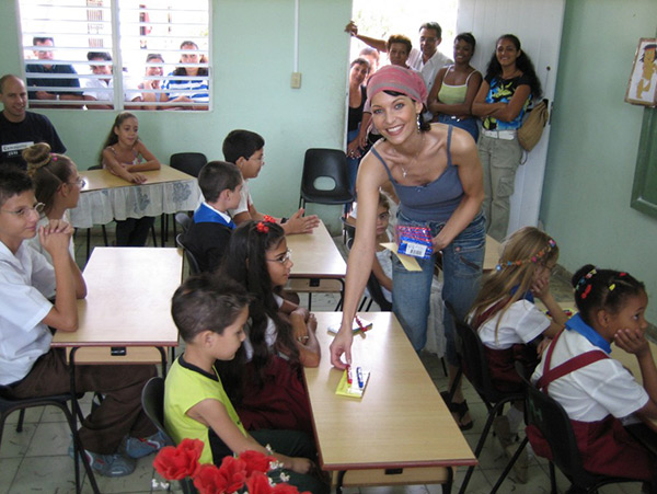 Anita Buri Charity Projekt in Kuba