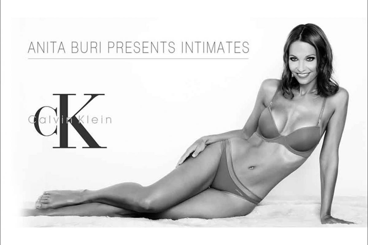 06-Anita Buri Werbung für Intimates von Calvin Klein
